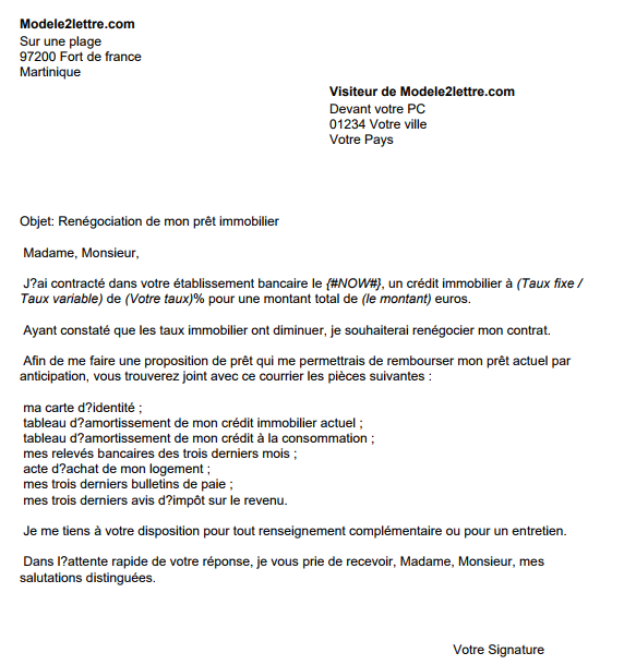 lettre de motivation immobilier location